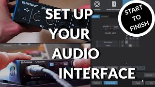 How to set up your Audio Interface #StudioOne