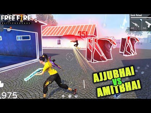 AJJUBHAI VS AMITBHAI BEST HEADSHOTS MOMENTS CLASH SQUAD - Free Fire Highlights