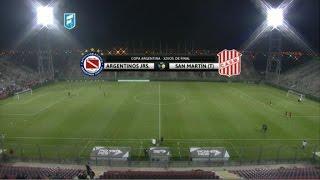 Argentinos Jrs vs San Martin T. full match
