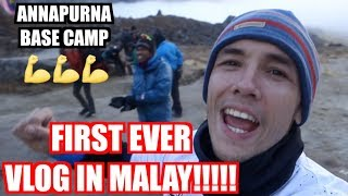 ENGLISH GUY VLOGGING IN MALAY FOR FIRST TIME!