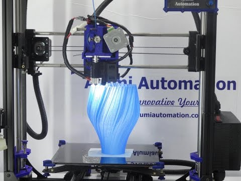Inferno V1 3D Printer In Action Making Large Vase 3D Printer