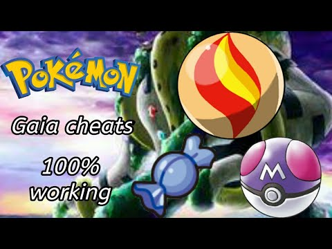 POKEMON GAIA V3 COMPLETED CHEATS 100% WORKING