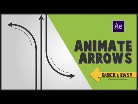 Attach Arrow Tips to a Shape Path in After Effects CC 2018
