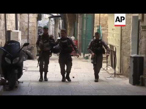 Palestinian attacker stabs 3, killed by police