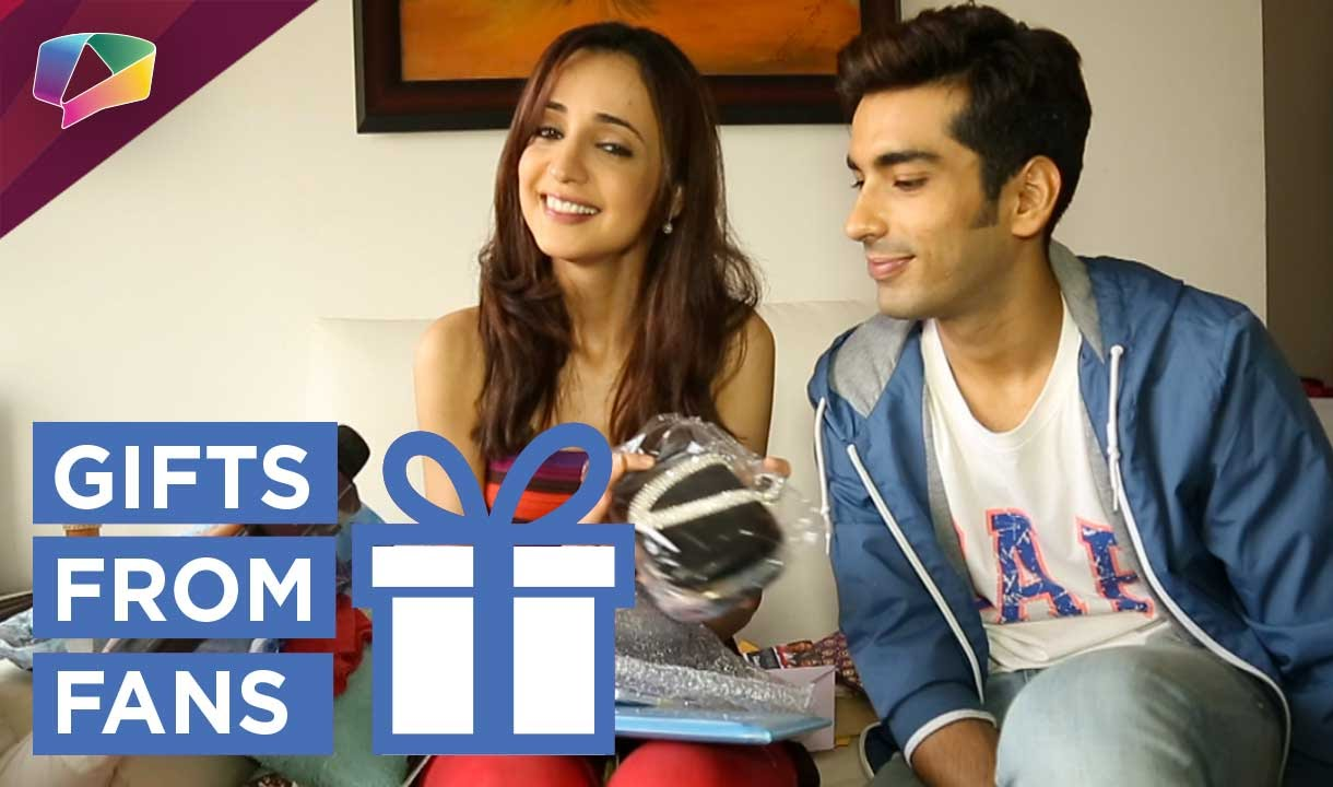 Sanaya Irani, Mohit Sehgal's long awaited gift segment Part 05