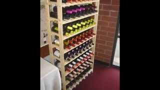 Build A 120 Bottle Wine Rack - Easy To Make