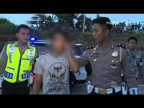 86 Aksi Dramatis Penggerebekan Balap Liar di Pasuruan