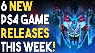 6 NEW PS4 Game Releases THIS WEEK! BIG PS4 JRPG Reveal CONFIRMED!