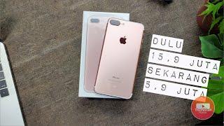 Udah Turun Harga 10 juta - iPhone 7 Plus resmi garansi iBox unboxing