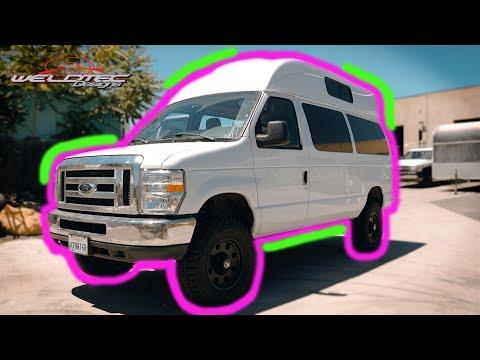Ford Econoline Camper Van | DIY Camper (Ultimate Lift)
