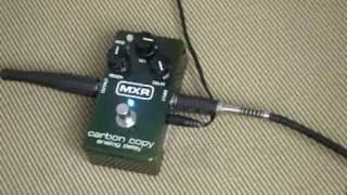 El Musiquiatra presenta: MXR Carbon Copy