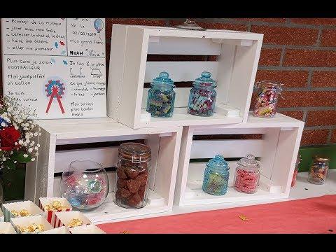 [Mini Tuto] Caisses en palettes pour Candy Bar