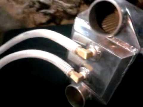 Ice Water Tank Amp A W Intercooler Youtube