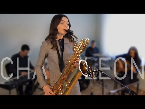 Chameleon (Bari Sax cover) Herbie Hancock | piano drums guit