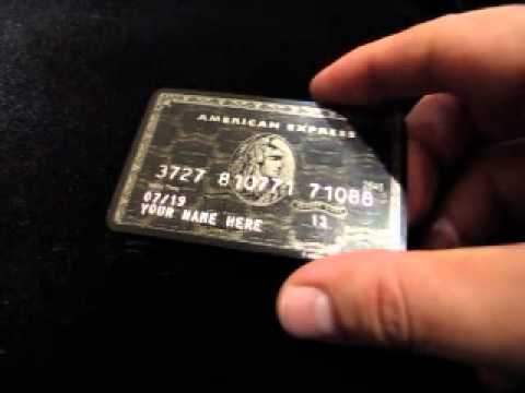 American Express Titanium Card American Express Black