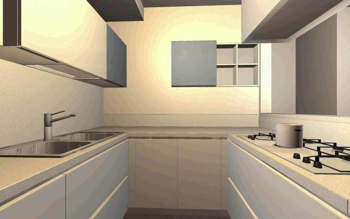 Progetta la tua cucina in 3D con Pam - YouTube