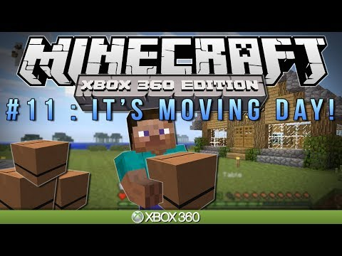 "Minecraft Xbox | ""IT'S MOVING DAY"" 