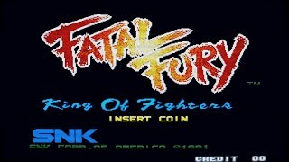 Fatal Fury Neo Geo Music - Player Select