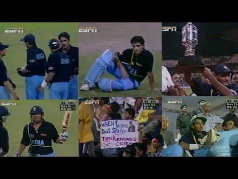 India vs Kenya | 1998 COCA COLA CUP FINAL!! | kolkata | *SUPER DUPER RARE*
