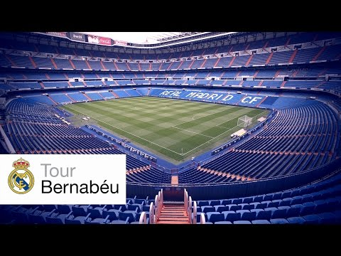 Tour Bernabeu: Real Madrid Stadium Tour 2016
