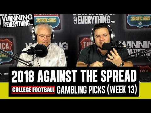 WCE: 2018 College Football Gambling Picks Week 13 (Against the Spread)