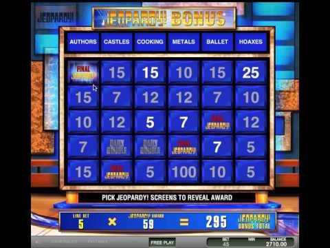Jeopardy Slots