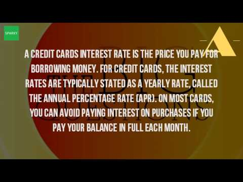 What Is The APR On Credit Cards?