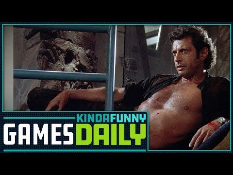 Jeff Goldblum Comes to Jurassic World Evolution - Kinda Funny Games Daily 03.13.18