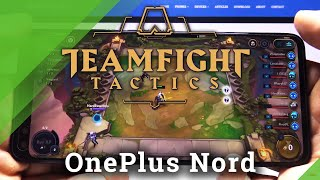 TFT Mobile no OnePlus Nord - Teamfight Tactics Gameplay