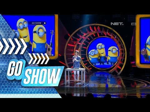 Ba ba ba ba ba nana! Genki make Minion song with cartoon characters sound! - Go Show