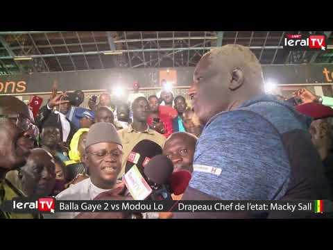 La Déclaration de Balla Gaye après sa Victoire contre Modou Lo