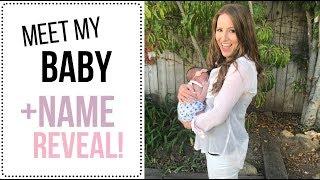 Video I HAD A BABY + NAME REVEAL! download MP3, 3GP, MP4, WEBM, AVI, FLV November 2017