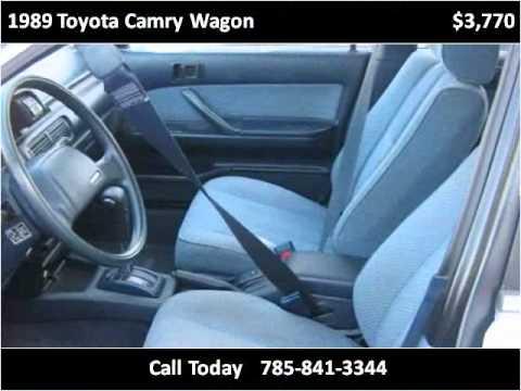 Used Cars Lawrence Ks >> 1989 Toyota Camry Wagon Used Cars Lawrence KS - YouTube