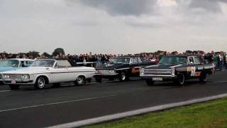 Extreme loud and fast Plymouth Belvedere / Mopar Nationals