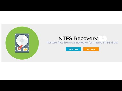 DiskInternals NTFS Recovery™ - for restore of deleted files