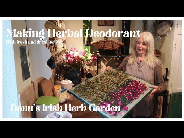 Making Herbal Deodorant