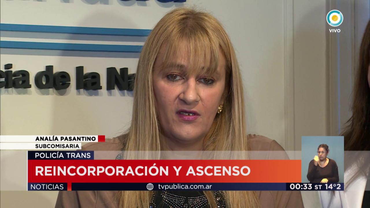 Analía Pasantino: La primera jefa de Policía transexual de Latinoamérica