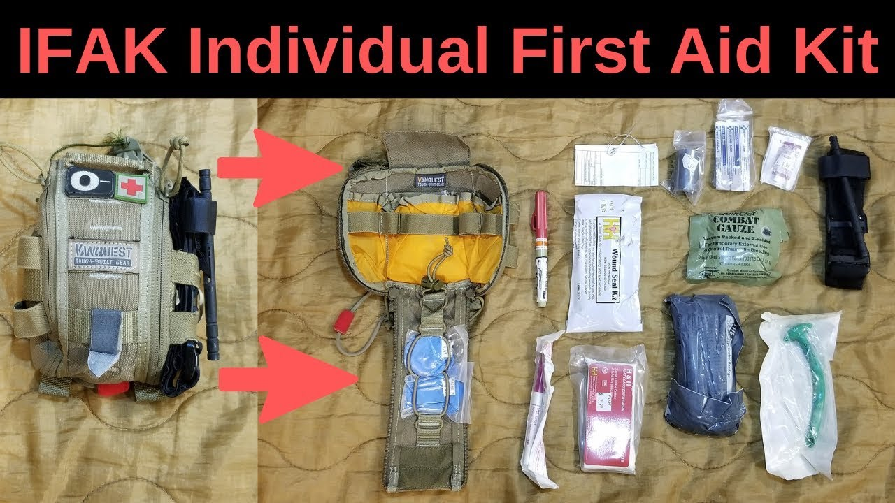 IFAK: Individual first aid kit