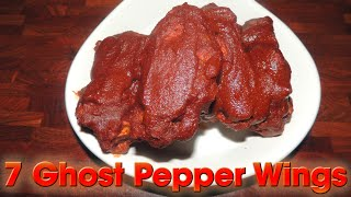 Ghost Pepper Wings Ozzie's Sizzling 7 Wing Challenge | Randy Santel