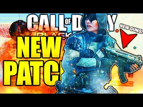 NEW BO4 UPDATE FIRST DLC WEAPONS and NEW SPECIALIST! CALL OF DUTY BLACK OPS 4 1.09 PATCH UPDATES PS4