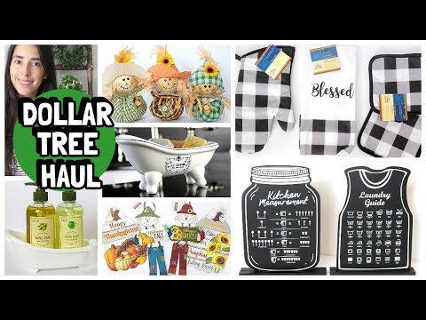 DOLLAR TREE HAUL 2019 | NEW FINDS | BUFFALO CHECK AND FALL ITEMS
