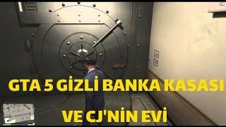 GİZLİ BANKA KASASI VE CJ'NİN EVİ TROLL ÇIKTI | GTA 5 BÖLÜM 36