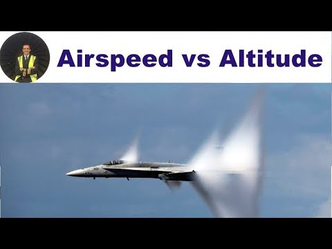 ATPL POF Theory: Airspeed VS. Altitude ✈