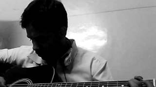 Chand mera dil chandni ho tum... guitar cover