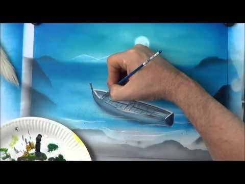 Airbrush Perspektive Licht und Schatten Teil 3