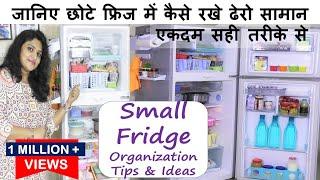 जानिए छोटे फ्रिज में कैसे रखे ढेरो सामान सही तरीकेसे Fridge Organisation Ideas | Fridge Organization