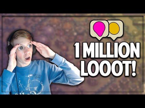1 KLICK - 1 MILLION LOOT!! | weitere UPGRADES | Clash of Clans deutsch