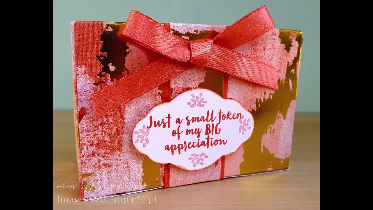 Friends Gift Box for Votive Candles - YouTube