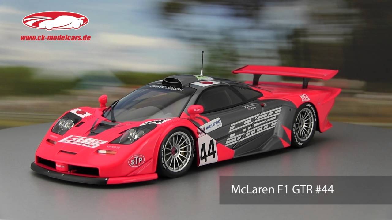 ck-modelcars-video: McLaren F1 GTR #44 24h LeMans 1997 Team Lark ...