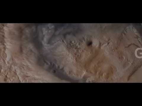 Mars: Gale Crater Fly-through using Fledermaus 7